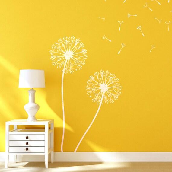 Dandelion Flower Stencils for Wall art DIY decor just like