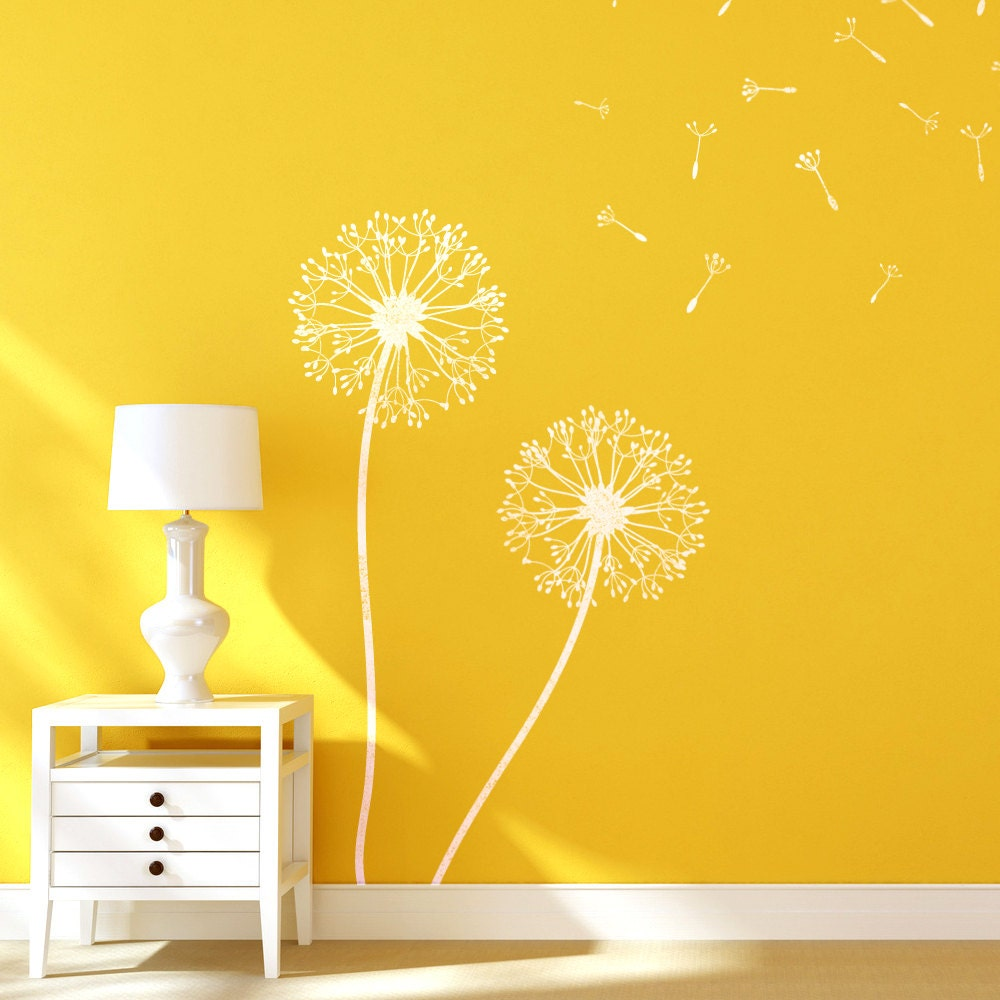 Dandelion Flower Stencils for Wall art DIY decor just like