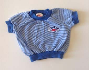 80s Helicopter Ringer Tee (12/18 months)