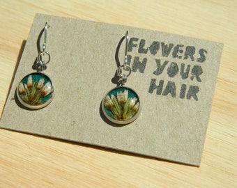 Unique handmade earrings with Australian Native Star Flower
