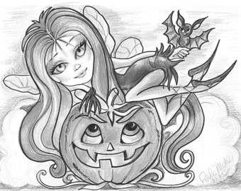 adult coloring page greyscale coloring page printable coloring page digital download halloween fantasy art vamperella by leslie mehl art