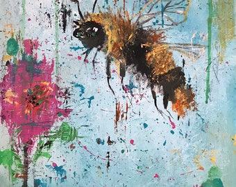 Bee Happy - original artwork