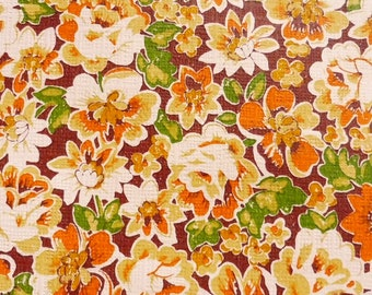 vintage wallpaper, painted paper flowers