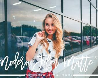 Modern Film Matte Adobe Lightroom Presets