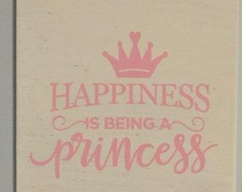 Princess wall art-Princess wall decor-Girls princess room-Princess nursery- Princess art-Fairytale wall art-Princess room-Princess decor