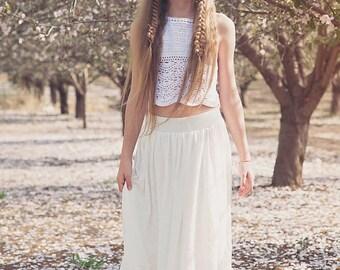 Crochet Lace Flower Girl Dress, Junior Bridesmaid Dress, Hippie wedding, Rustic Flower Girl, Bohemian Flower girl, boho flower girl dress