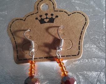 Short stem earrings