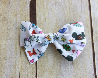 Disney Pinwheel Hair Bow