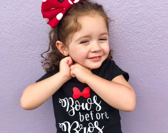 Adult | Child Minnie's Big Bow headband