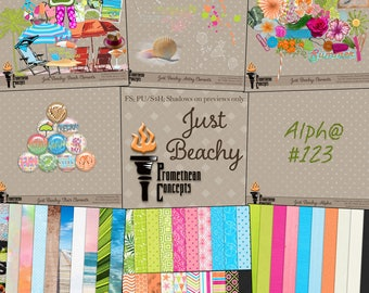 Just Beachy Scrapbook Collection
