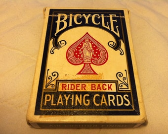 Playing Cards with the Casino Stamp on the Case