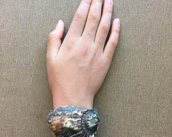 Midnight Seashell Bracelet