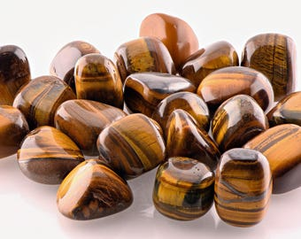 Tiger Eye Tumbled Gemstone - Stone for Protection