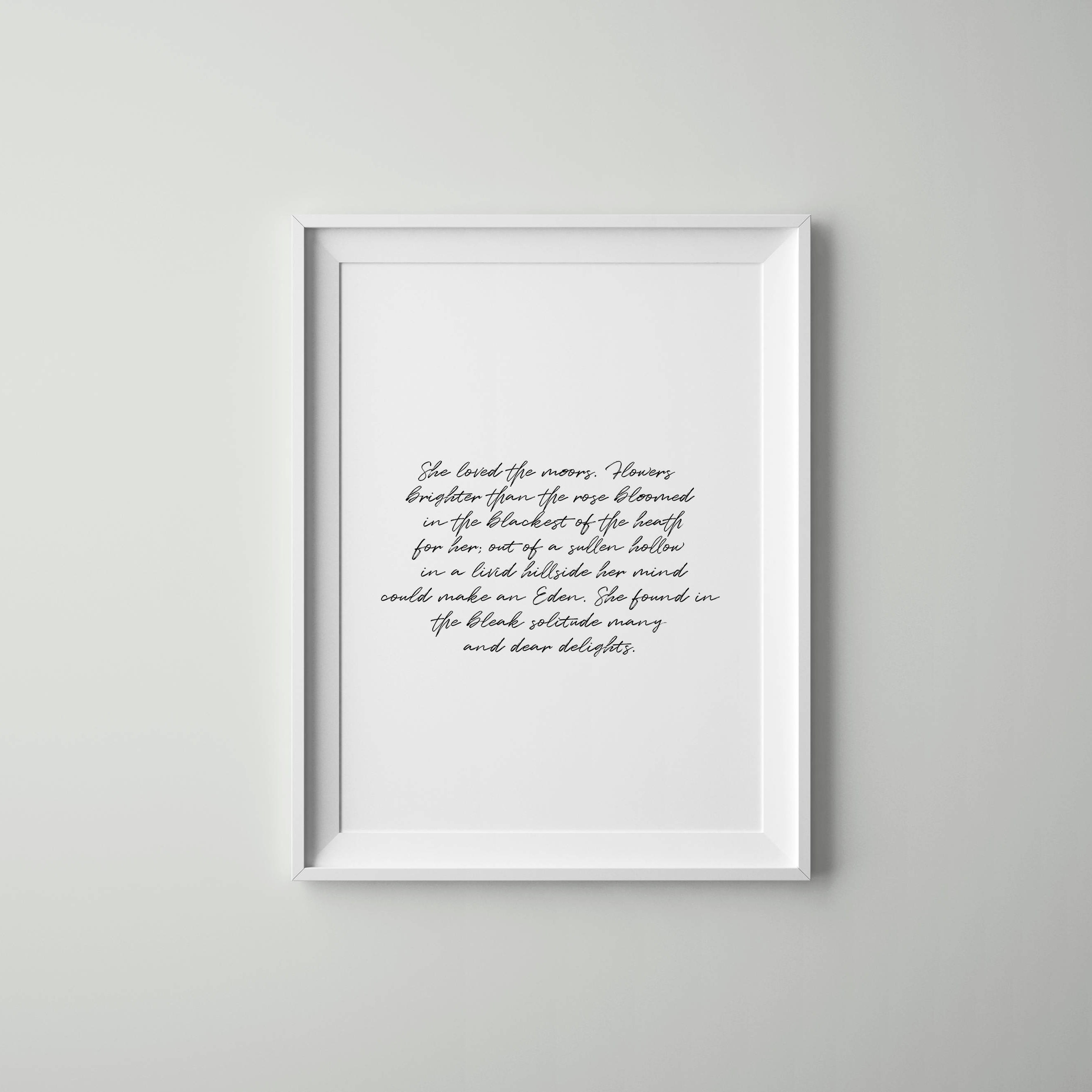Art Quotes Tumblr She Loved Wall Art Quote Scandinavian Decor Tumblr Room
