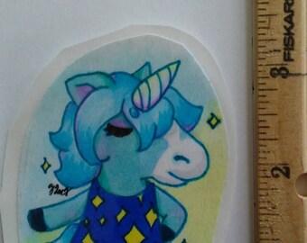 Animal crossing Julian sticker