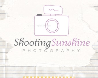 Photography business logo, Unique photography logo and watermark, photography branding Business Logo