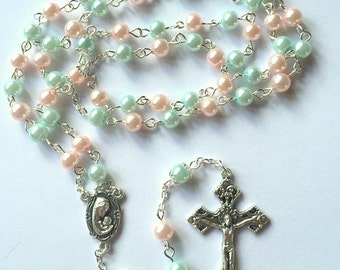 Birth, Pro Life, Miscarriage, Loss of Child Catholic Rosary ~ Can Personalize
