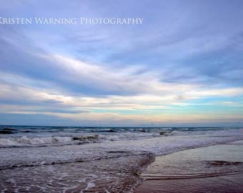 Beach, Beachscapes, Ocean, Skies, Pastel Colors, Landscapes, Seascapes, Skyscape, Photography