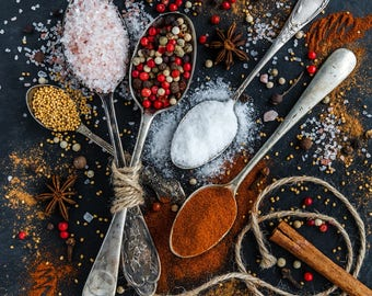 Salt blend flavoured seasoning mix all-purpose seasoning