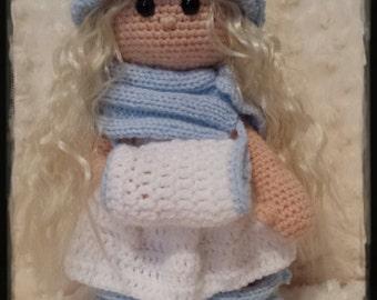 Principessa d'Inverno  amigurumi all'uncinetto crochet - SOLO PATTERN