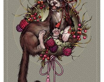 Michaela, the weasel