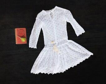 Edwardian Lace Dress Overlay - Late 1800s