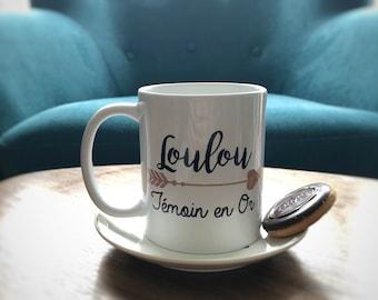 Light gold mug