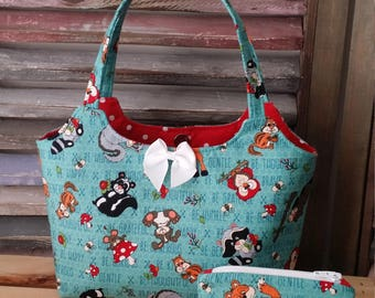 Woodland Forest Animals Toddlers Little Girls Purse