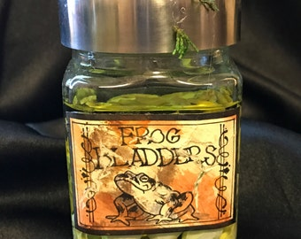 Apothecary Bottle - Frog Bladders