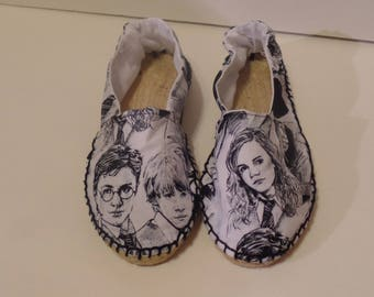 Harry Potter Espadrilles, Youth Size 2