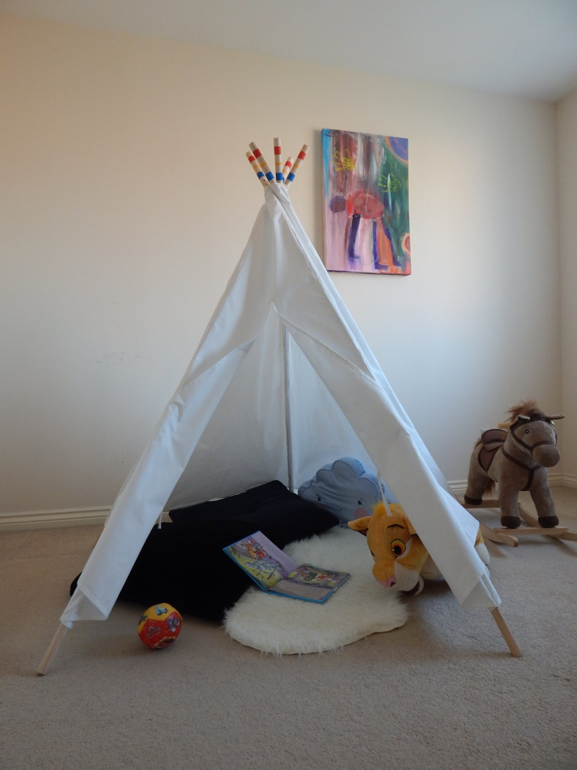kinder spielen tipi zelt tipi zelt tipi wigwam tipi tipi. Black Bedroom Furniture Sets. Home Design Ideas