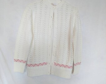 Vintage 1960's Wintuk Acrylic Sweater