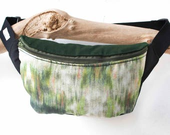 Hipbag • GREEN LIFE • Fanny pack bum bag travel bag side bag crossbody bag men