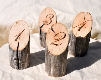 10 Wooden Table Numbers for Wedding, Cafe Table Numbers, Wedding Table Numbers Wood, Rustic Table Numbers, Rustic Wedding Table Numbers