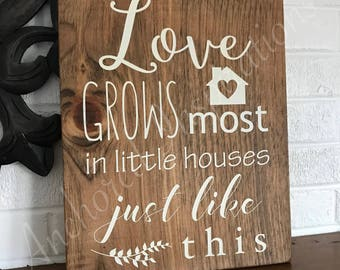 Love Grows Most