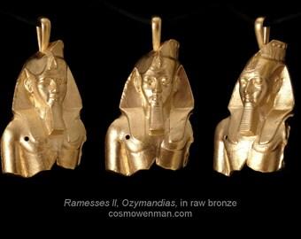 Ramesses II, Ozymandias, necklace pendant
