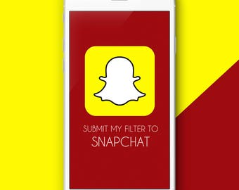 We will submit your snapchat filter for you!