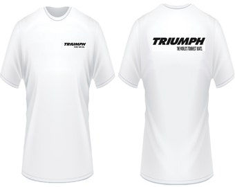 Triumph Boat T-Shirt