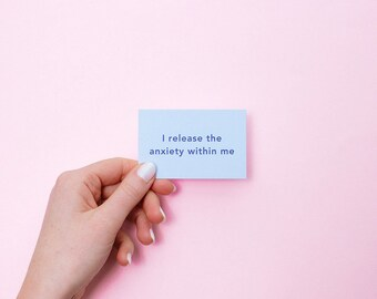 Little pack of Calm | calm gift, stress relief, anxiety relief, affirmation cards, self care