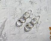 Triple Circle Earrings St...