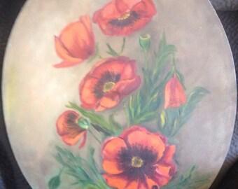 Stunning Poppy Painting