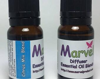 Citrus Mix Blend - Aromatherapy Diffuser Oil Blend - Pure Oils
