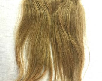 1 Piece Thick One Piece Bulk Extension Remy Human Hair Clip in ClipIns Chestnut Brown 55 Grams 15 inches long