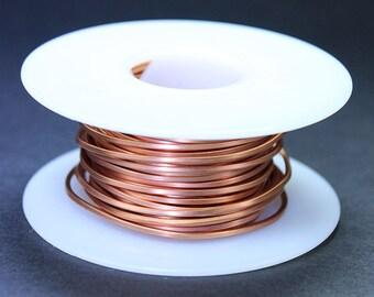 Copper Square Wire 16ga 1.30mm Soft (Approx. 23.7ft)  (CSW16)