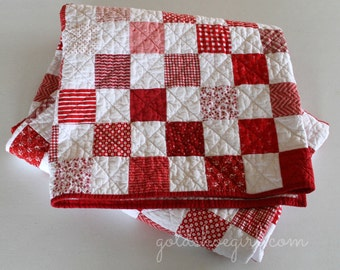 Custom Quilt ~ Made to Order Patchwork Quilt - Design Your Own Quilt -   Twin Size Patchwork Quilt