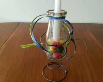 Easter Egg Candle - Bed Spring