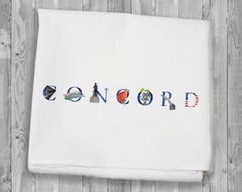 Flour Sack Towels for kitchen and bar - Concord