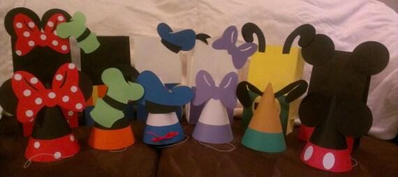 Sombreros de fiesta de Mickey Mouse o Goody bolsas elegir 9f8fd945463