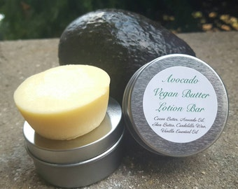 Vegan Avocado Butter Lotion Bar | Local pickup only | Moisturizing Bar | Body Lotion | Local Pick Up until September | Solid Lotion | Vegan