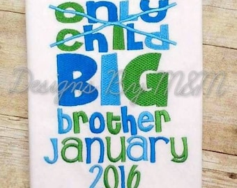 Big Brother / Big Sister Shirt/Bodysuit